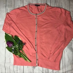 Tommy Hilfiger Salmon Pink Cardigan D1-126